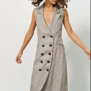 Dresses & Skirts - MARA HOFFMAN TAMAR DOUBLE BREASTED MIDI DRESS NWT!